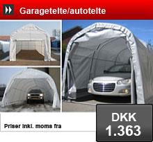 Tidsmæssigt Garagetelte - Garagetelte til salg. Køb Garagetelte til bil, båd ID-97
